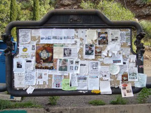 Bisbee Bulletin Board