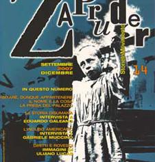 Copertina di Zapruder, n. 14 (sett-dic 2007)