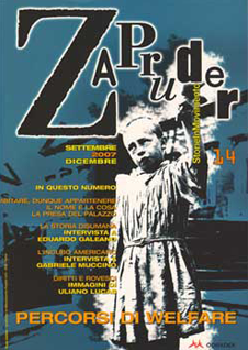 welfare Copertina di Zapruder, n. 14 (sett-dic 2007)