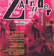 Copertina di Zapruder, n. 16 (mag-ago 2008)