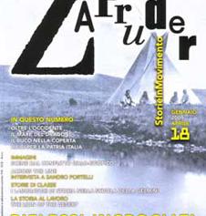 Copertina di Zapruder, n. 18 (gen-apr 2009)