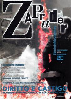 Copertina di Zapruder, n. 20 (sett-dic 2009)
