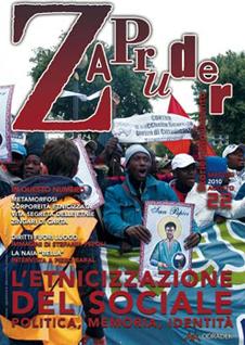 Copertina di Zapruder, n. 22 (mag-ago 2010)