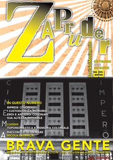 Copertina di Zapruder, n. 23 (sett-dic 2010)