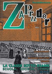 Copertina di Zapruder, n. 27 (gen-apr 2012)