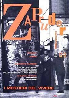 Copertina di Zapruder, n. 3 (mag-ago 2004)