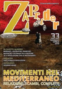 Copertina di Zapruder, n. 33 (gen-mag 2014)