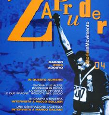 Copertina di Zapruder, n. 4 (mag-ago 2004)