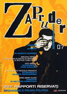 Copertina di Zapruder, n. 7 (mag-ago 2005)