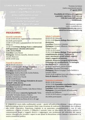 SIMposio (3-6 settembre)