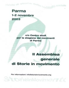 Parma SIM assemblea 2003