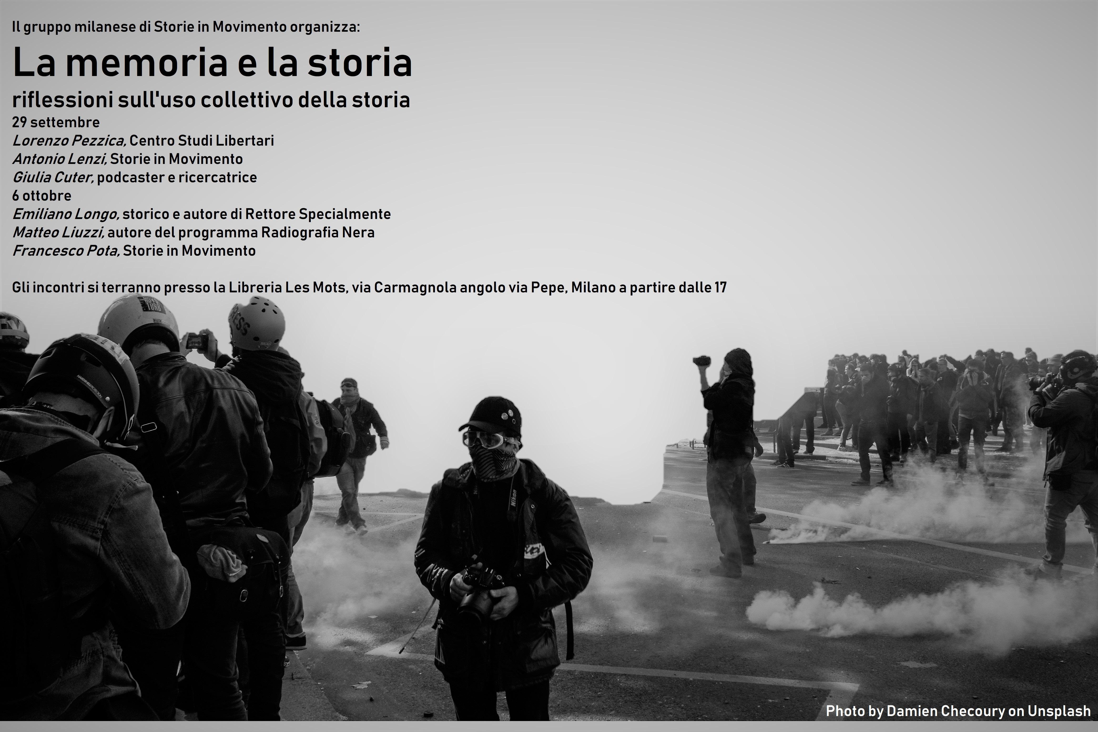 La memoria e la storia - Incontri a Les Mots Milano