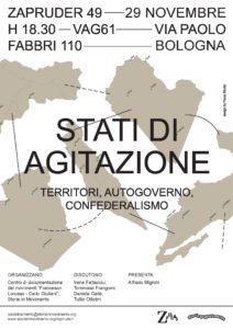 stati di agitazione - Bologna 29/11/2019