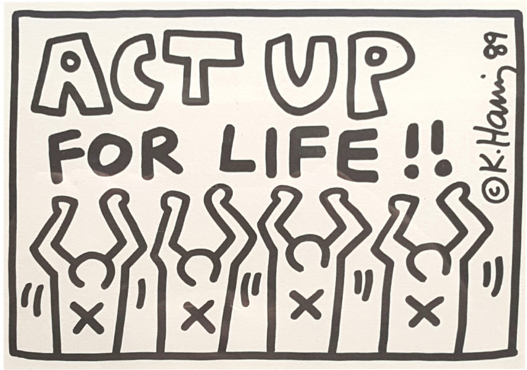 Act-up Haring scienza