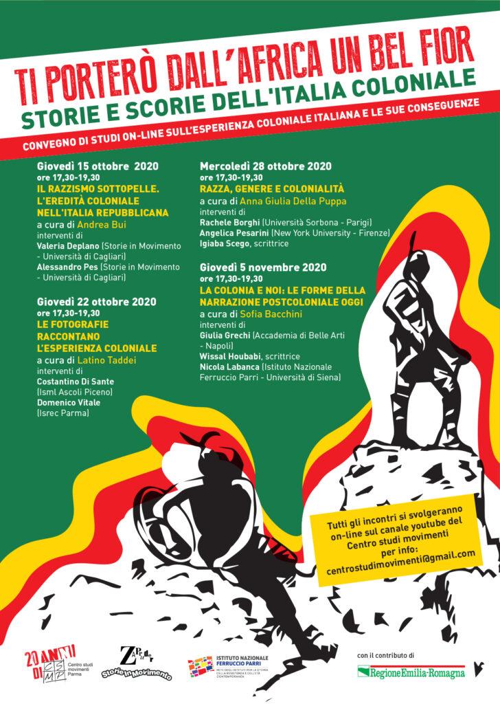 colonialismo italiano Parma ott 2020