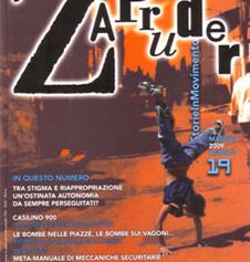 Copertina di Zapruder, n. 19 (mag-ago 2009)