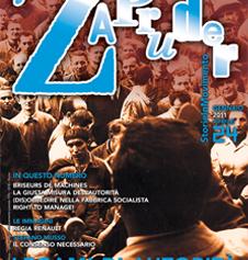 Copertina di Zapruder, n. 24 (gen-apr 2011)