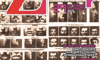 Copertina di Zapruder, n. 29 (sett-dic 2012)