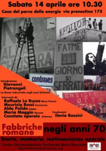roma industriale 1970